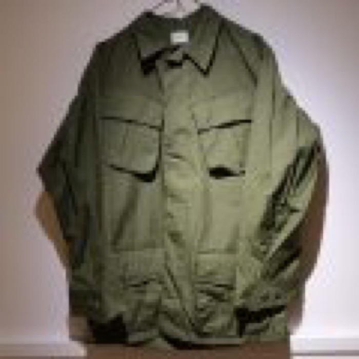 60's U.S military jungle fatigue jacket dead stock