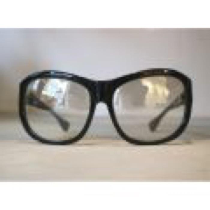 REBEL / Black×Clrar Silver Mirror Lens