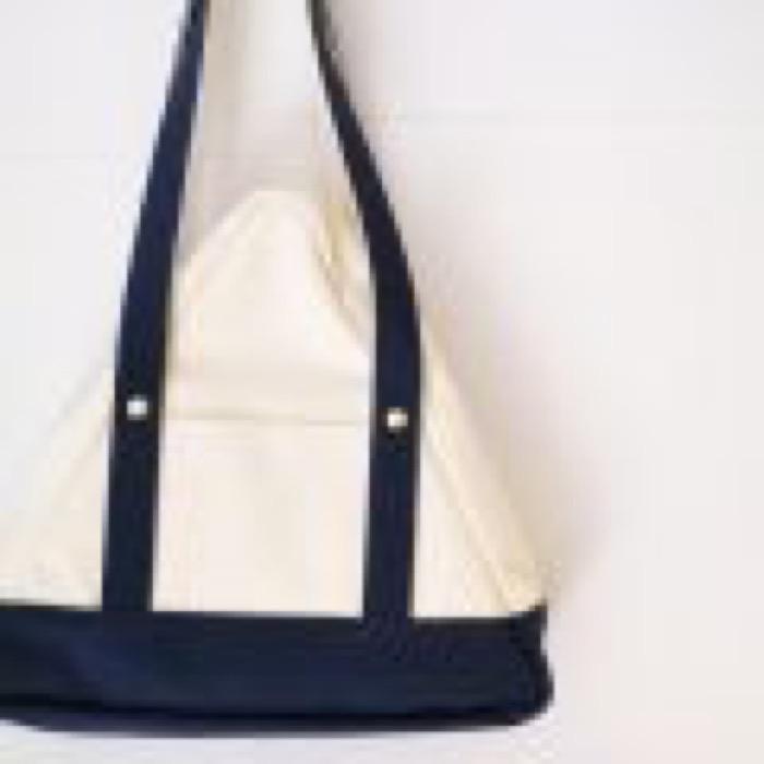 SANKAKU tote bag / Navy