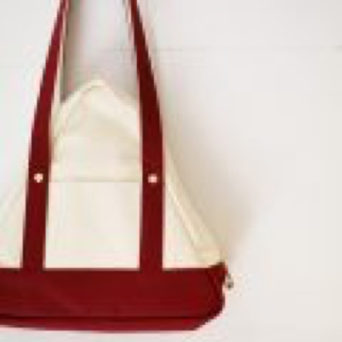SANKAKU tote bag / Wine Red