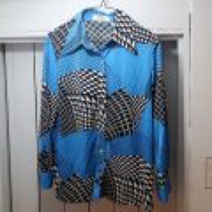 70's DEAD STOCK PARTTERN SHIRTS