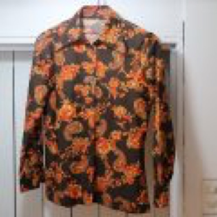 70'S POLYESTER PAISLEY SHIRT