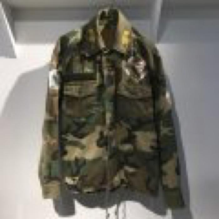 Custom military jacket