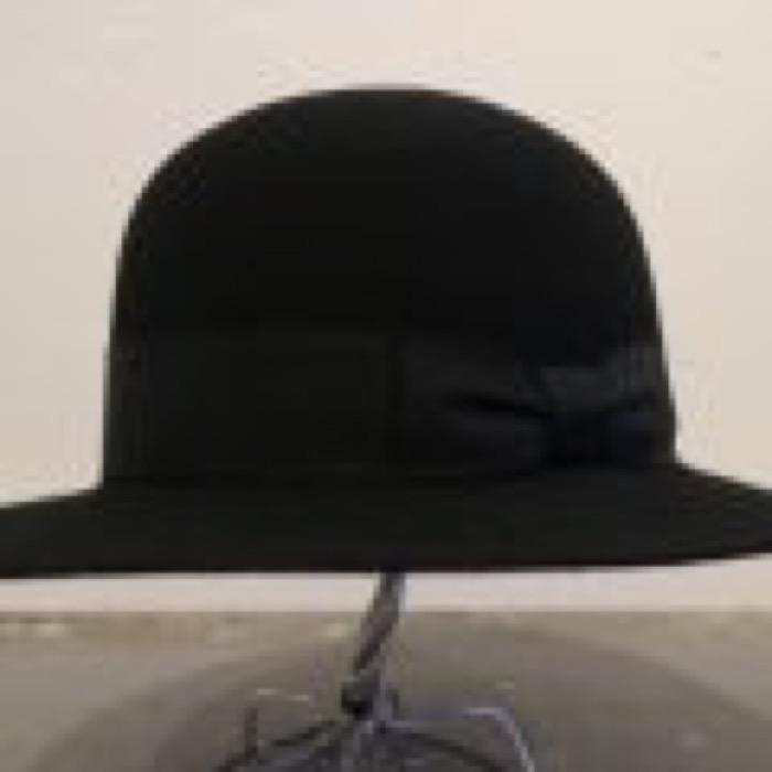 BOWLER HAT  /  BLACK