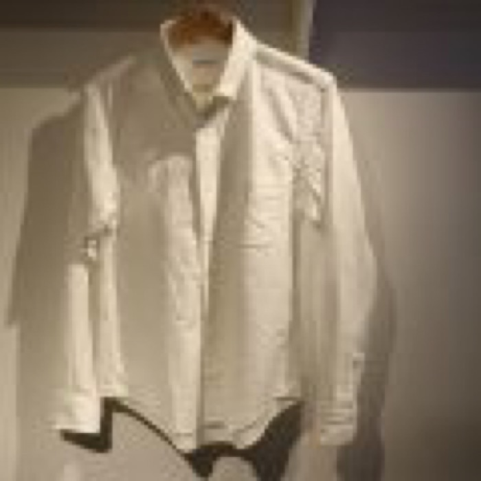 "Shuttle notes MASTER CLOTH ""White button-down shirts"""
