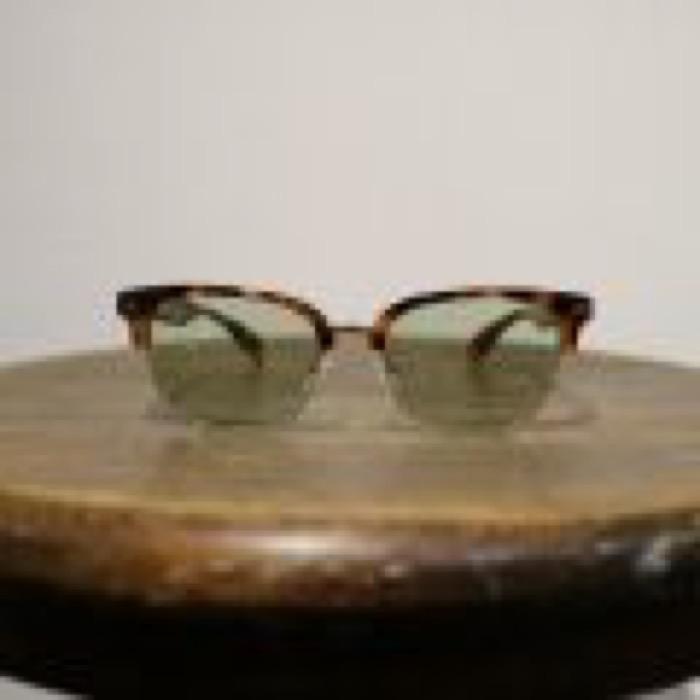 STOMP / Havana Brown×Gold / Light Green Lens