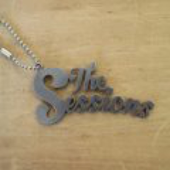 "LAMP × The Sessions ""IRON LOGO KEY RING"""