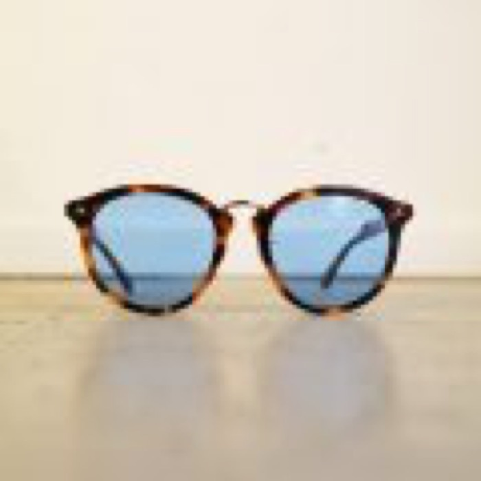 CHILL / Brown Demi×Gold / Blue Lens