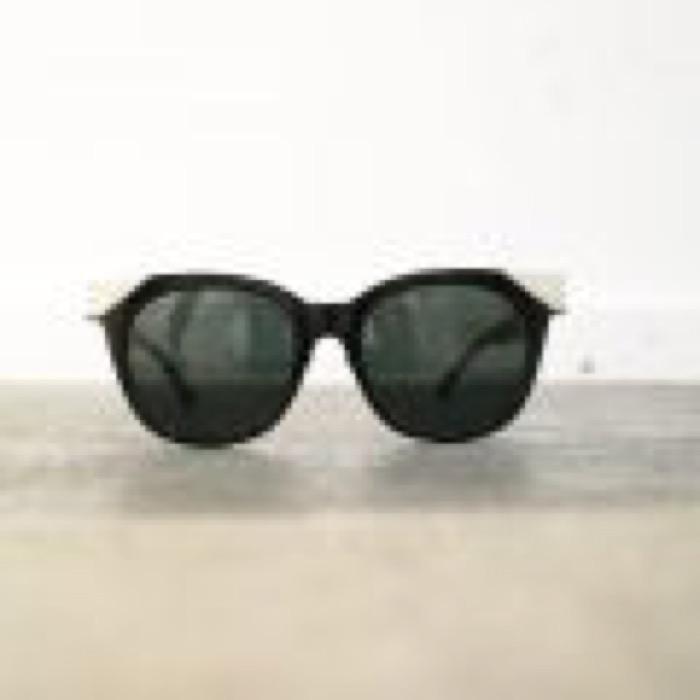 MUDDY / Black×Silver / Green Lens