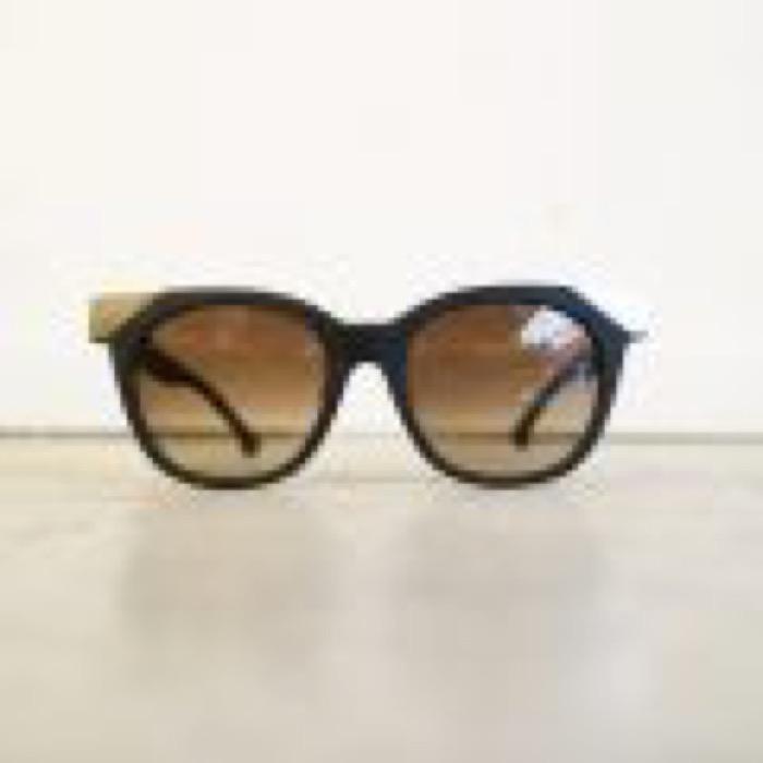 MUDDY / Matt Black×Silver / Brown Gradation Lens