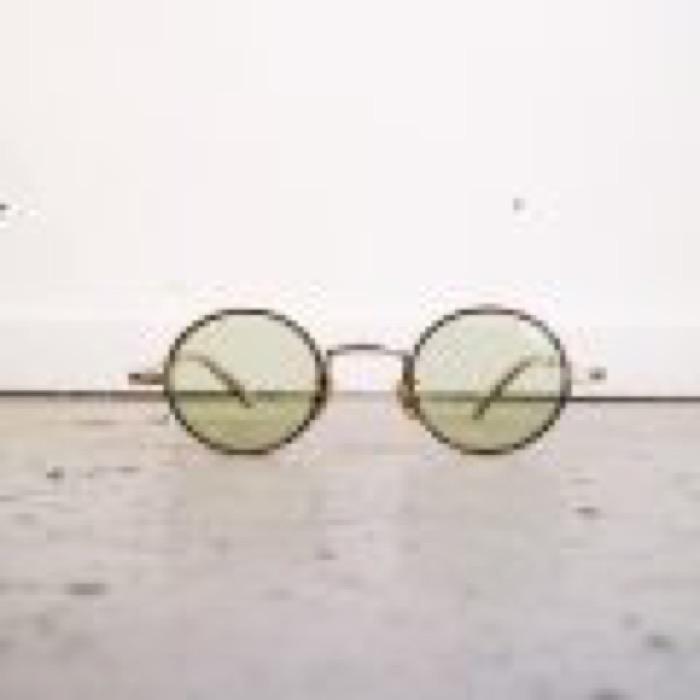 SECT / Brown×Gold / Light Green Lens