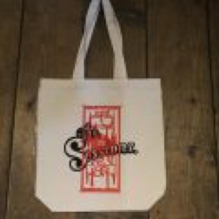 SAMPLING TERROR × The Sessions tote bag
