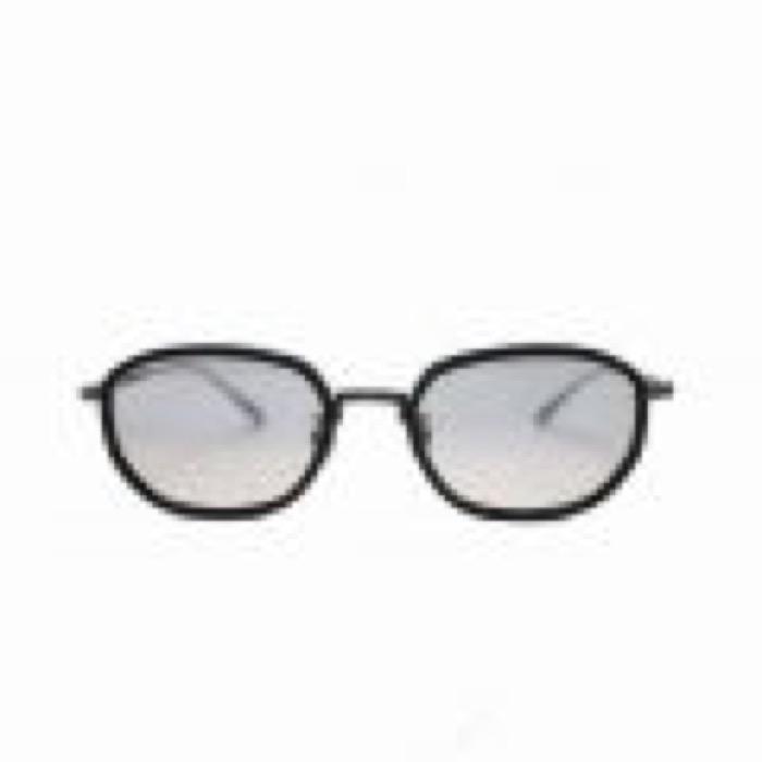 PETE / Black×Antique Black / Light Gray Lens