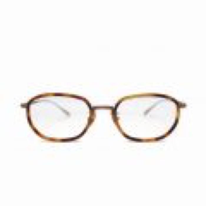 PETE / Havana Brown×Antique Brown / Clear Lens